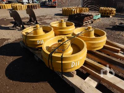 Qty Of (4) Idlers Crawler Tractor Attachment - Other