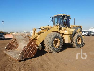 1996 CATERPILLAR 966F Series II Wheel Loader