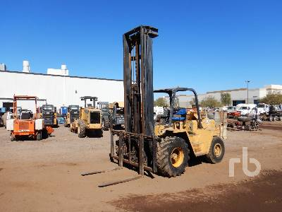 1988 CATERPILLAR R80 8000 Lb 4x4 Rough Terrain Forklift