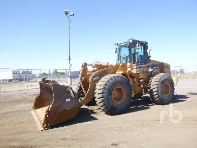 2005 CASE 821C Wheel Loader
