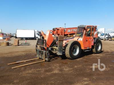2010 SKYTRAK 10054 10000 Lb 4x4x4 Telescopic Forklift