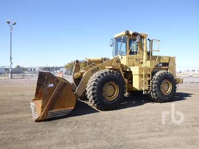 1983 CATERPILLAR 966D Wheel Loader
