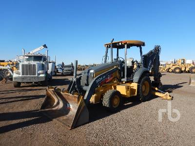 2015 JOHN DEERE 310K EP 4x4 Loader Backhoe