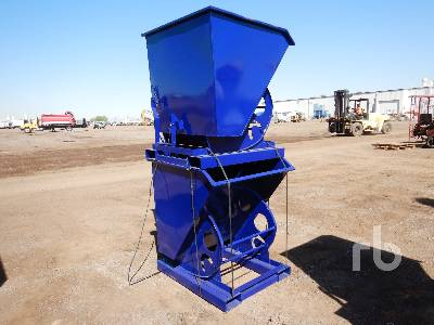 Unused Qty Of (2) Self Dumping Hoppers Container Equipment - Other