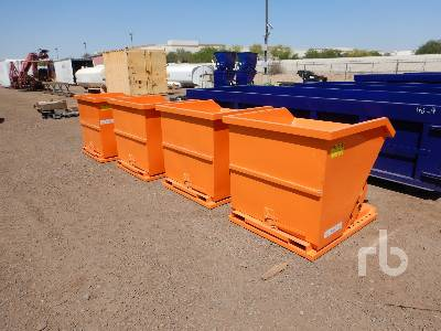 Unused SUIHE Qty Of (4) Self-Dumping Hoppers Container Equipment - Other