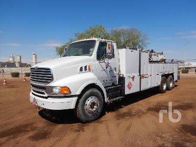 2004 STERLING A9500 6x4 Mechanic Fuel & Lube Truck