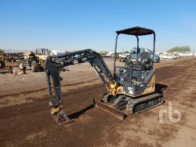 2011 JOHN DEERE 17D Mini Excavator (1 - 4.9 Tons)