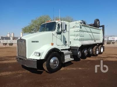 2005 KENWORTH T800 Super 18 Dump Truck (Quad/A)