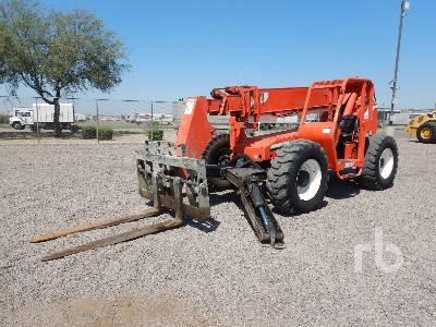 2000 JLG 10054 10000 Lb 4x4x4 Telescopic Forklift