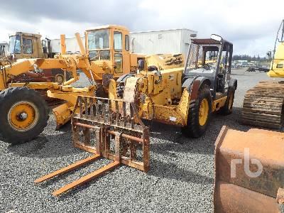 2002 CATERPILLAR TH83 8000 Lb 4x4x4 Telescopic Forklift