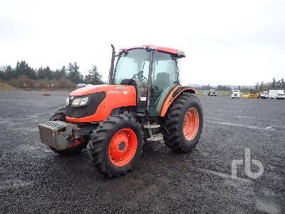2008 KUBOTA M9540 MFWD Tractor