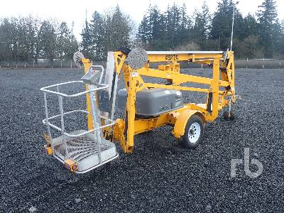 2016 HAULOTTE 4527A Tow Behind Articulated Boom Lift