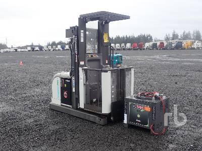2015 NISSAN OPC/100DTFVI415 2200 Lb Stand Up Electric Forklift