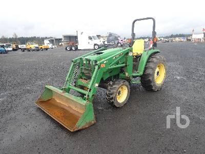 2004 JOHN DEERE 4510 4WD Utility Tractor