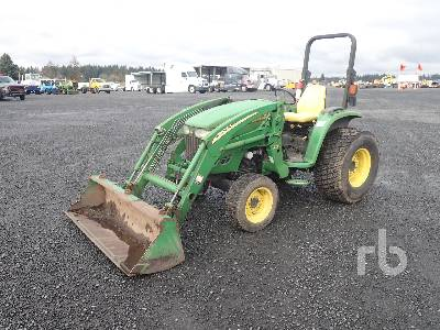 2005 JOHN DEERE 4320 4WD Utility Tractor