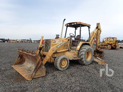 1994 JOHN DEERE 410D 4x4 Loader Backhoe