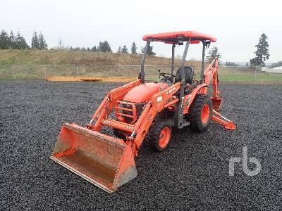2016 KUBOTA B26 4WD Utility Tractor