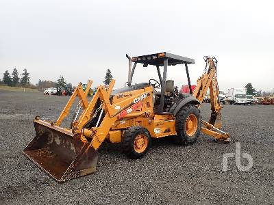 2005 CASE 580SM Series 2 4x4 Loader Backhoe