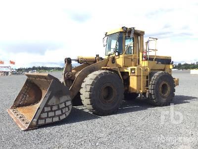 1991 Cat 966F Wheel Loader
