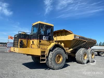 1999 Cat D400E 6x6 Articulated Dump Truck