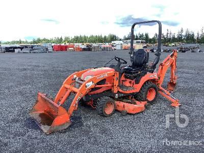 2014 Kubota BX25DLB 4WD Utility Tractor