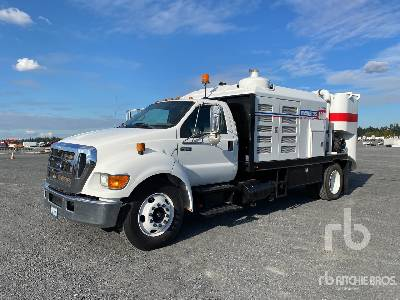 Vacmasters S4000 on 2007 Ford F-650 4x2 XLT Super Duty Vacuum Excavator Truck