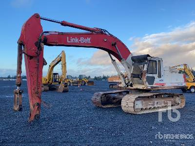 1990 Link-Belt LS-4300 Track Excavator