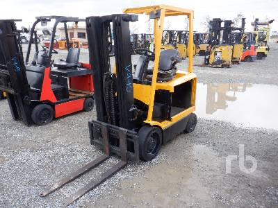 2008 HYSTER E45Z-33 4500 Lb Electric Forklift