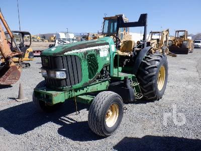 2006 JOHN DEERE 6520L MFWD Tractor