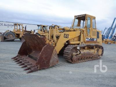 1992 CATERPILLAR 973LGP Crawler Loader