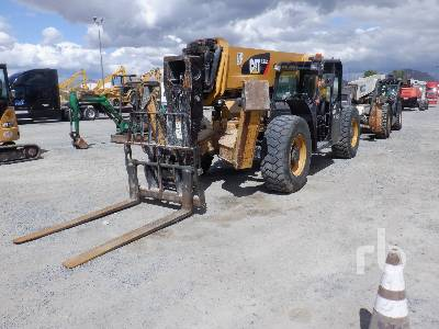 2014 CAT TL1255C 12000 Lb Telescopic Forklift
