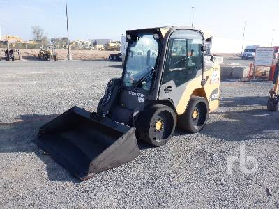 2016 VOLVO MC85C Skid Steer Loader
