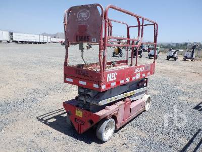 MEC 2633ES Scissorlift 26 Ft Electric Scissorlift