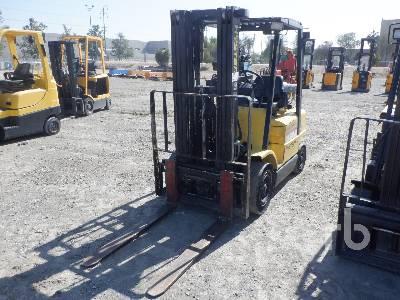 2002 HYSTER H50XM 4950 Lb Forklift