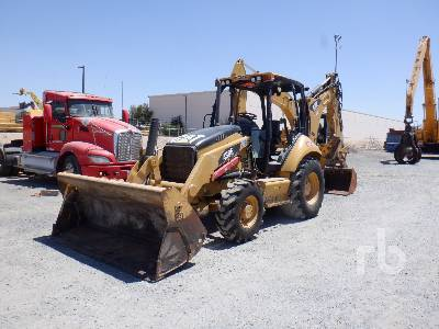 2011 CATERPILLAR 430E 4x4 Loader Backhoe