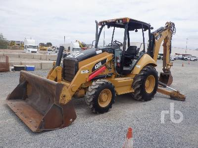 2008 CATERPILLAR 430E 4x4 Loader Backhoe