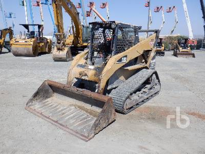 2004 CAT 287B Compact Track Loader
