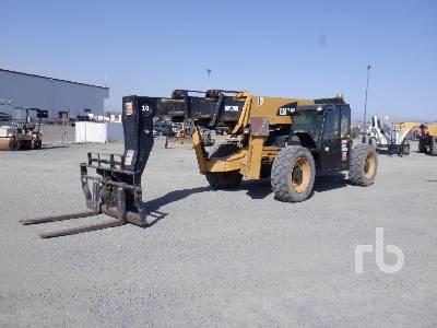 2013 CATERPILLAR TL1055C 10000 Lb 4x4x4 Telescopic Forklift