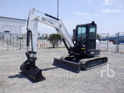 2015 BOBCAT E45EM Mini Excavator (1 - 4.9 Tons)