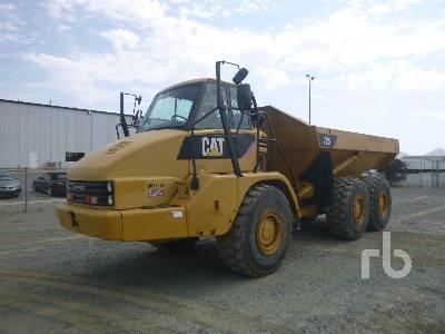 2008 CATERPILLAR 725 6x6 Articulated Dump Truck