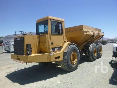 1992 CATERPILLAR D400D 6x6 Articulated Dump Truck