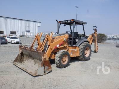 2007 CASE 580SM Plus 4x4 Loader Backhoe