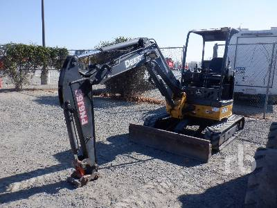 2007 JOHN DEERE 35D Mini Excavator (1 - 4.9 Tons)