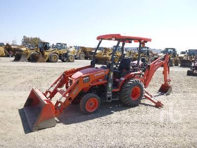 KUBOTA B26 4WD Utility Tractor