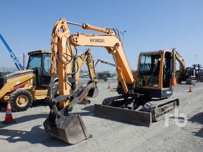 2013 HYUNDAI P0BEX80CR9 Midi Excavator (5 - 9.9 Tons)
