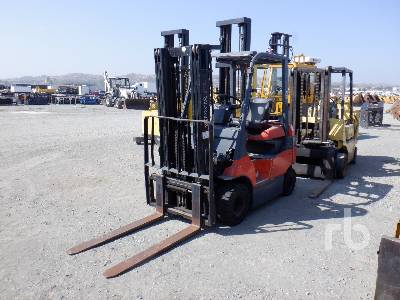 TOYOTA 7FBH25 3820 Lb Electric Forklift