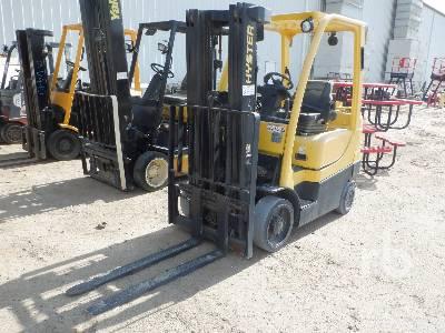 2014 HYSTER S50FT 4800 Lb Forklift