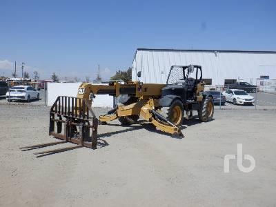 2006 CATERPILLAR TH360B 7000 Lb 4x4x4 Telescopic Forklift