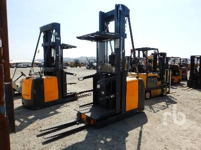 2015 JUNGHEINRICH EKS 308 2530 Lb Stand Up Electric Forklift