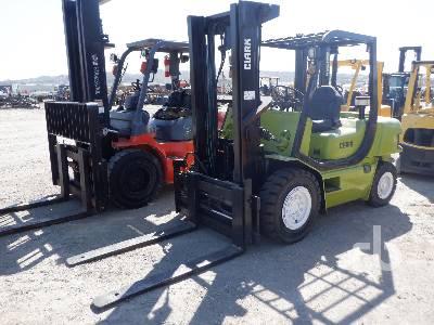 2008 CLARK CMP50S 8125 Lb Forklift